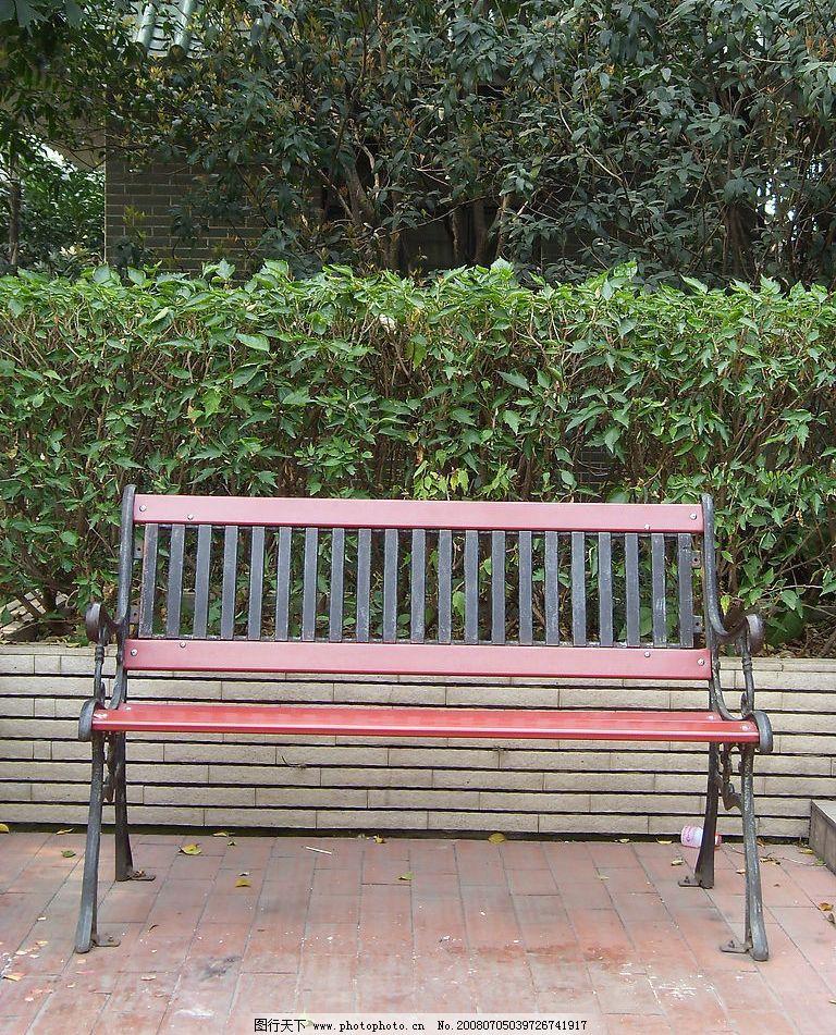 长凳 长凳 凳子 公园 树 建筑园林 其他 摄影图库 96 jpg