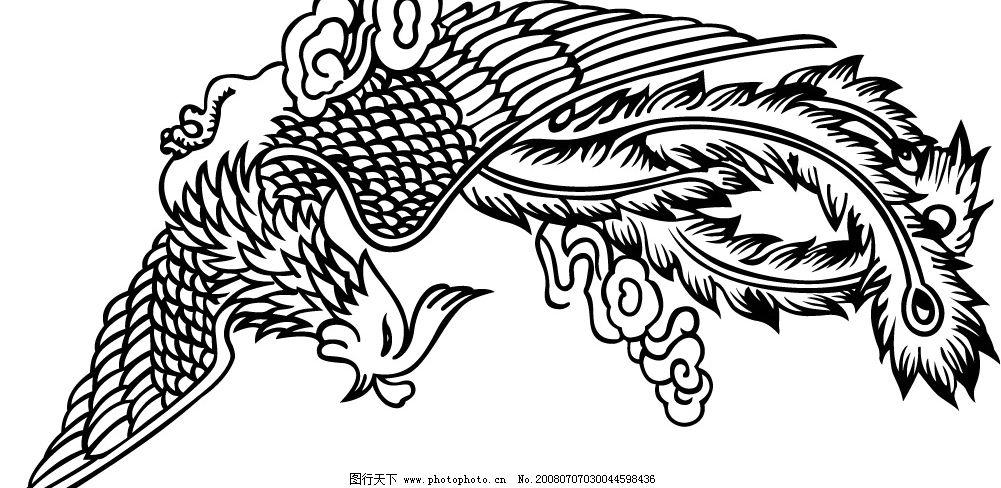 凤凰 广告设计 海报设计 狮 矢量图库   ai