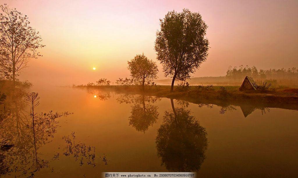 风景图片夕阳图片