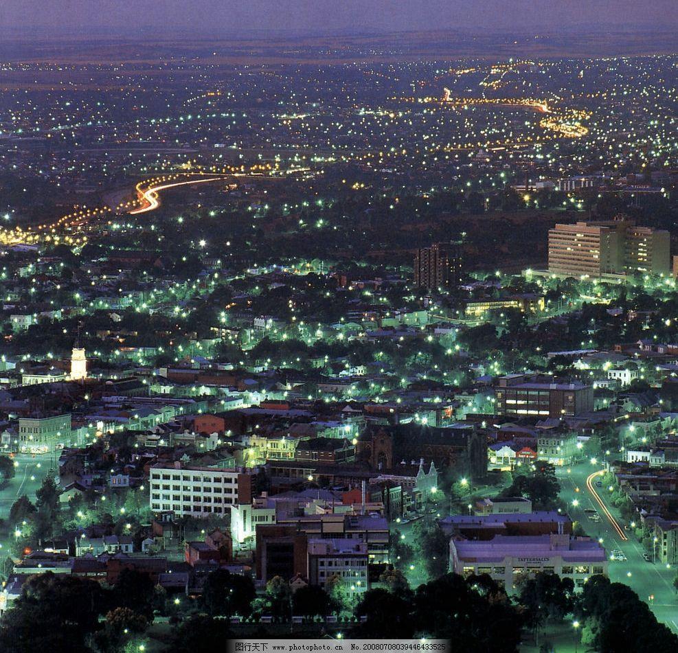 城市夜景 城市 夜景 摄影 背景 素材 建筑园林 建筑摄影 摄影图库 350