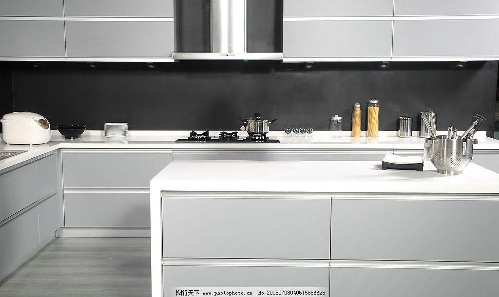 现代厨房 厨具 橱柜 家 灶台 吸油烟机 欧式厨具 家具 燃气灶
