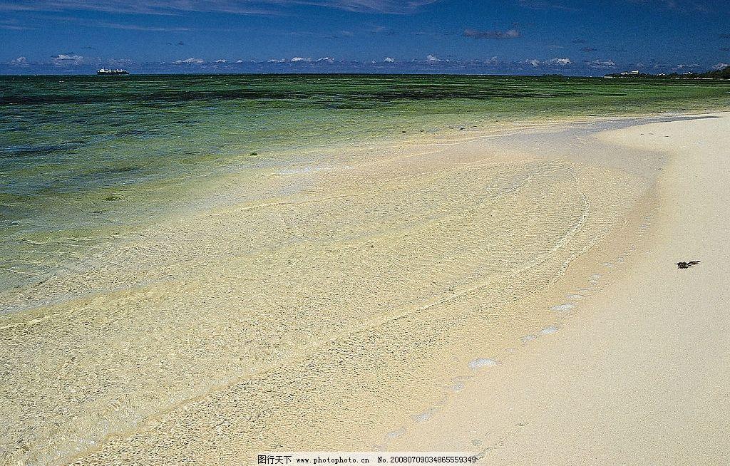 大海沙滩 自然 四季 风景 海水 蓝天 海天一线 自然景观 自然风景
