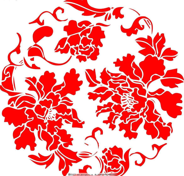 花纹底纹 花纹 底纹 精美线条 花朵 叶子 绽放 矢量图库 花纹花边