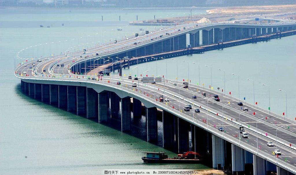 集美大桥 厦门 集美 大桥 旅游摄影 自然风景 摄影图库 300 jpg