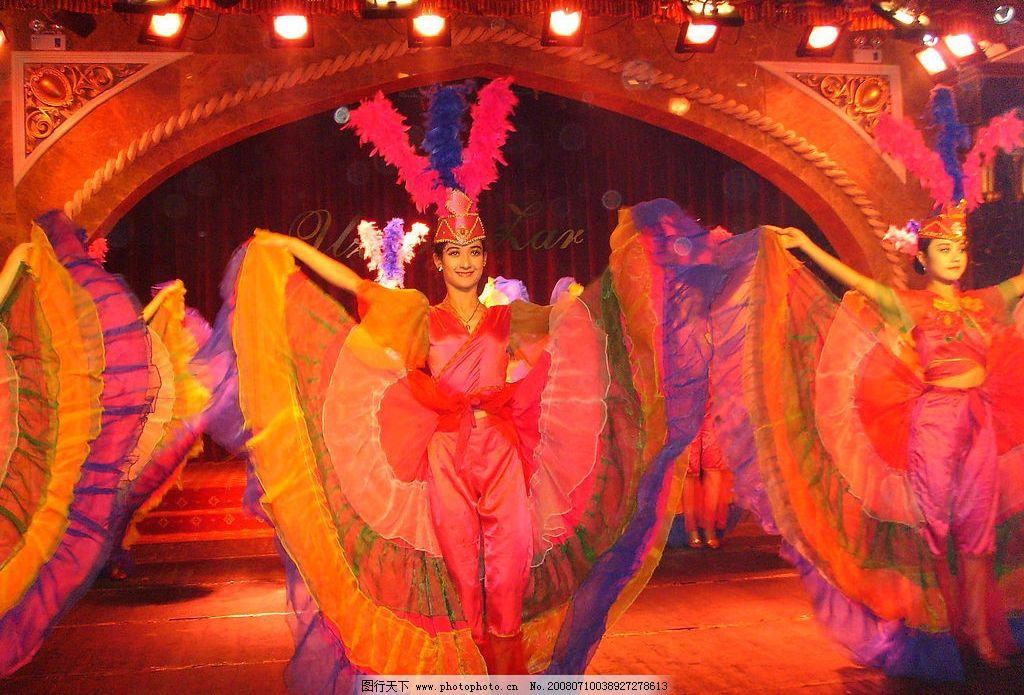 新疆风情 民族 维吾尔 舞蹈 摄影图库