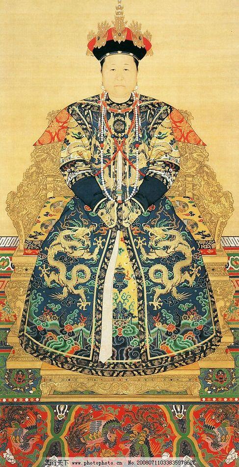 清朝皇后 皇太极孝庄文皇后 其他 图片素材 设计图库 72 jpg