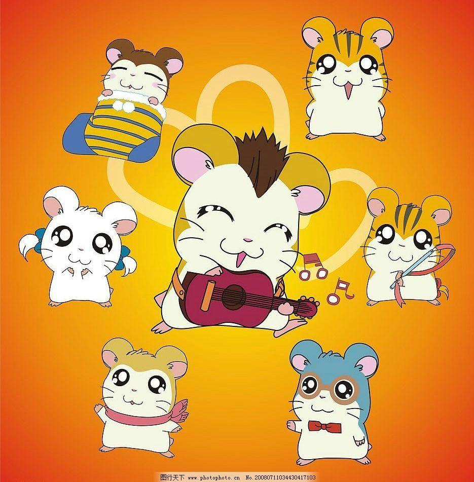 卡通动物 矢量动物 矢量 矢量图库 生物世界 其他生物 可爱卡通素材