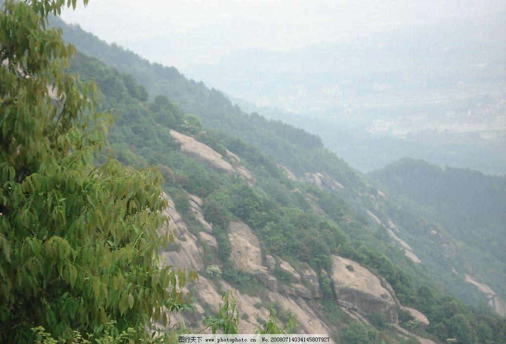 九子岩 安徽 九华山 俯视图 佛教圣地 旅游景区 旅游摄影 自然风景