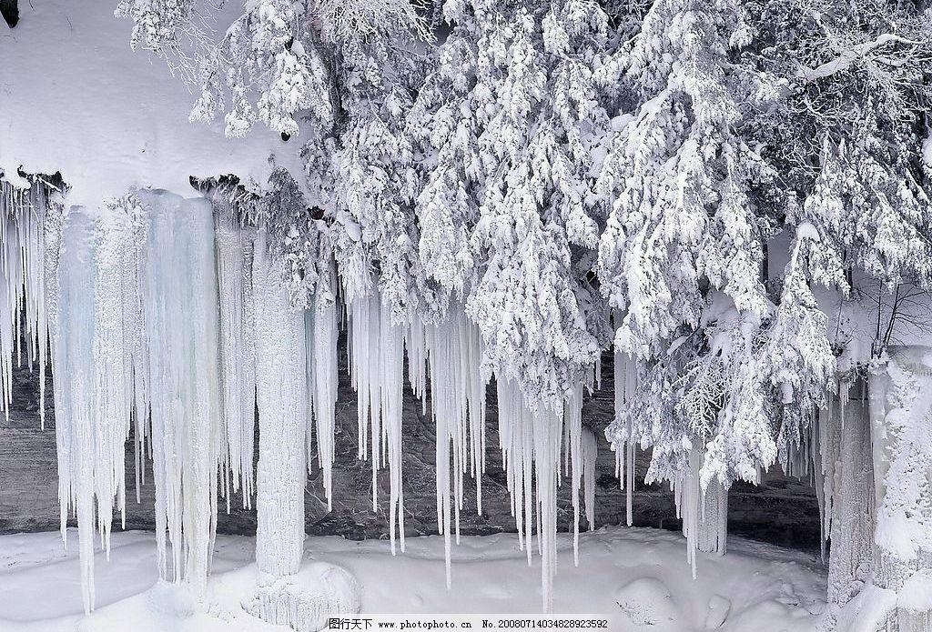 美丽雪景 美丽雪景*浪漫雪景壁纸*自然风光*风景壁纸 摄影图库