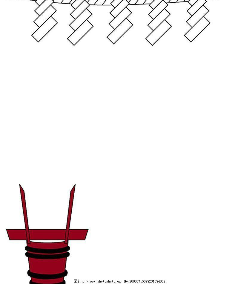 日式悬挂式边框图片
