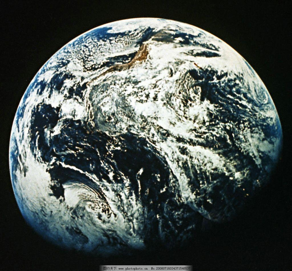 地球卫星图图片