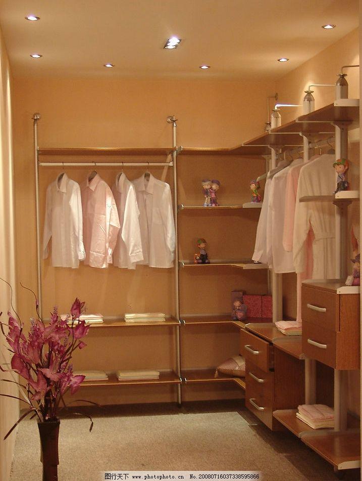 整体衣柜 家具 家居更衣室 生活百科 家居生活 摄影图库