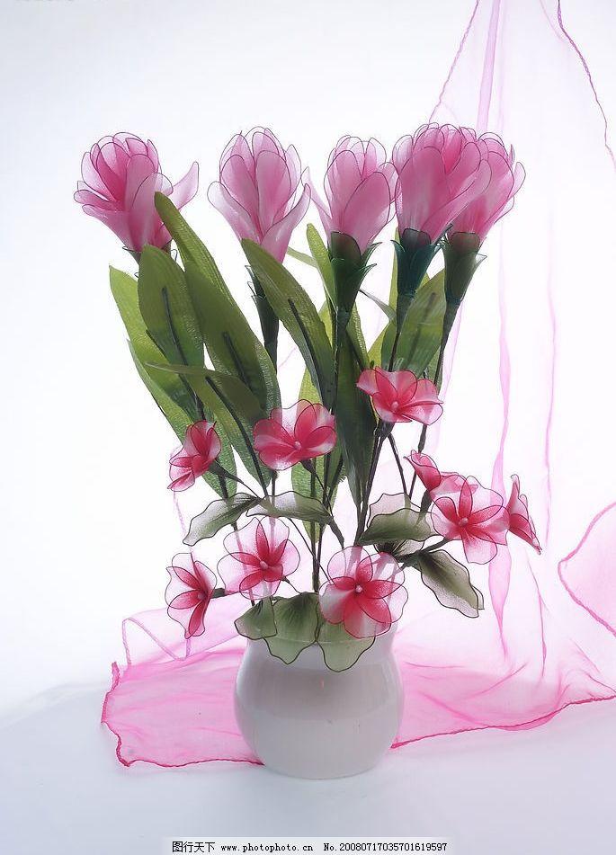 鲜花 花草 假花 装饰花 自然 百科 世界 大自然 绿色 篮子