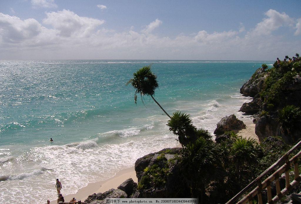 海滩 自然景观 山水风景 摄影图库 72dpi jpg