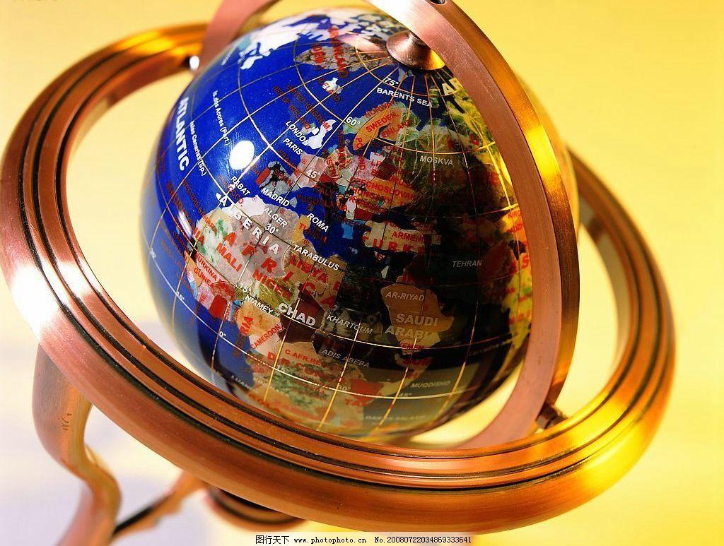 地球仪 抽象地球 全球视野 商业 自然景观 自然风景 摄影图库