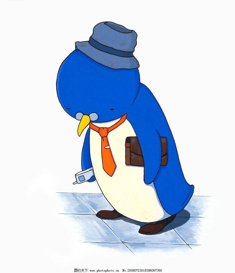 企鹅先生 企鹅 动漫动画 动漫人物 动漫卡通画 设计图库 350dpi jpg