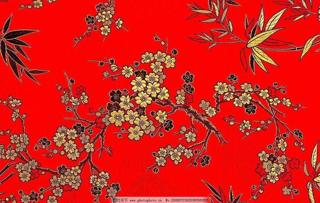 刺绣 梅花图片