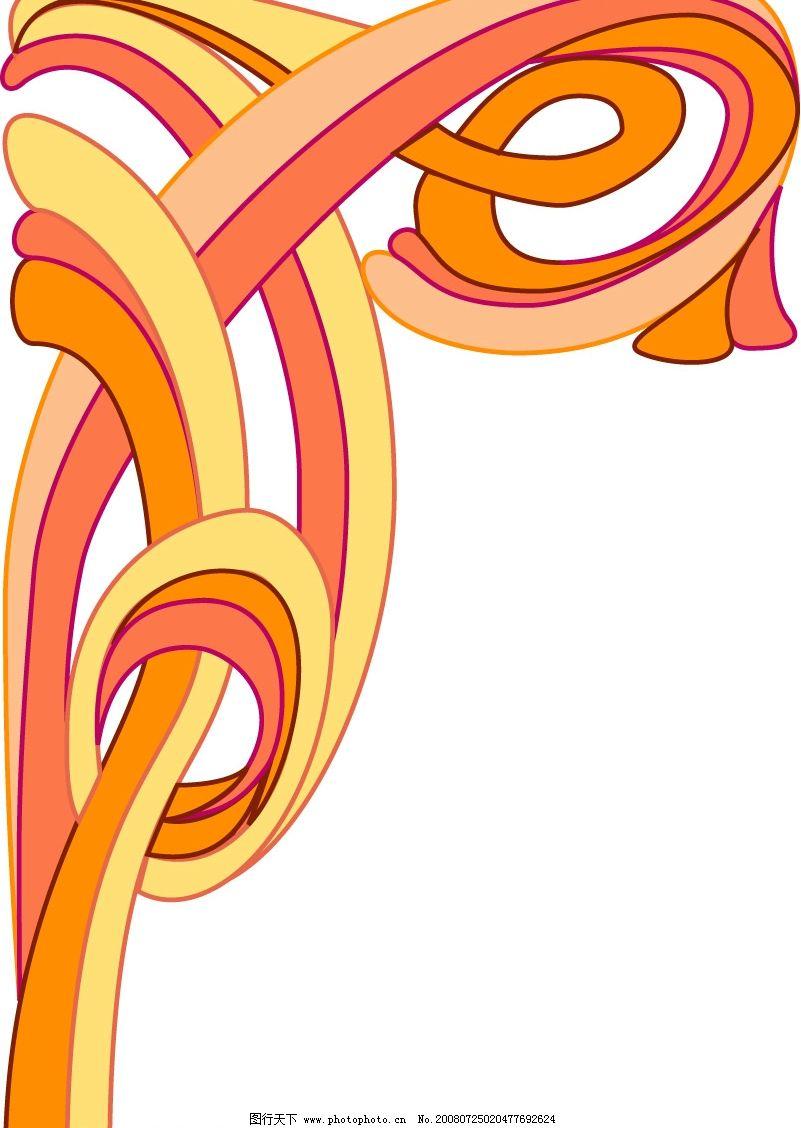 角花 矢量图 底纹边框 边框相框 矢量边框 矢量图库 eps
