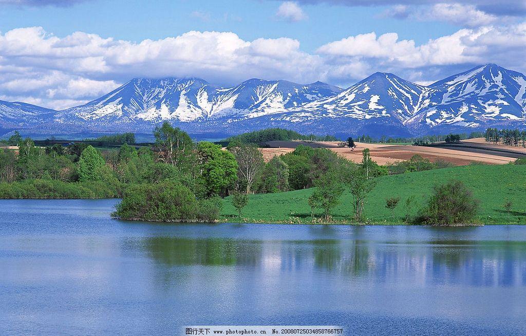 风光无限 青山绿水 蓝天白云 自然景观 自然风景 山丘美景篇 摄影图库