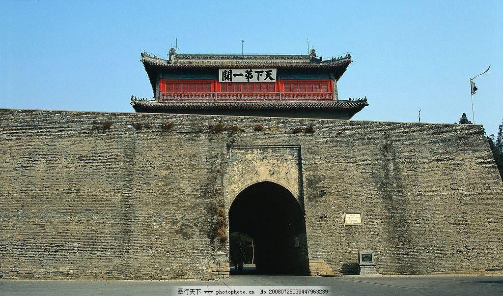 古城墙 古代城墙 城门 建筑园林 建筑摄影 摄影图库 300dpi jpg