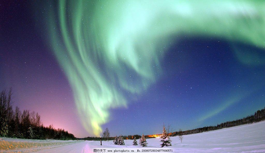 極光 自然景觀 自然風景 攝影圖庫 72dpi jpg