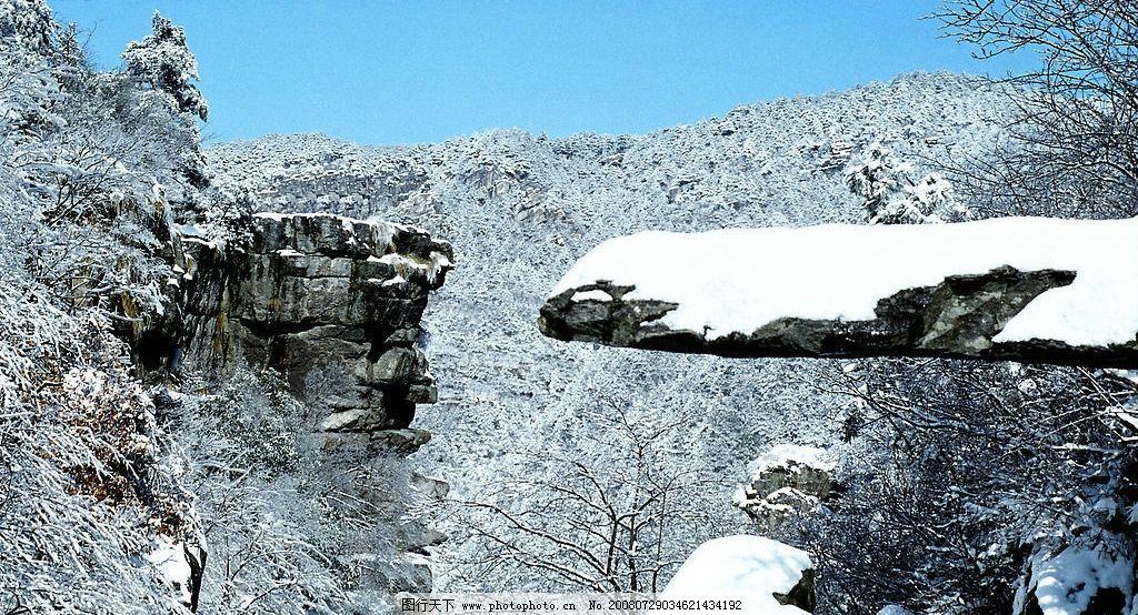庐山天桥(雪景) 庐山天桥雪景 下雪 风景 风光 江西 庐山风景