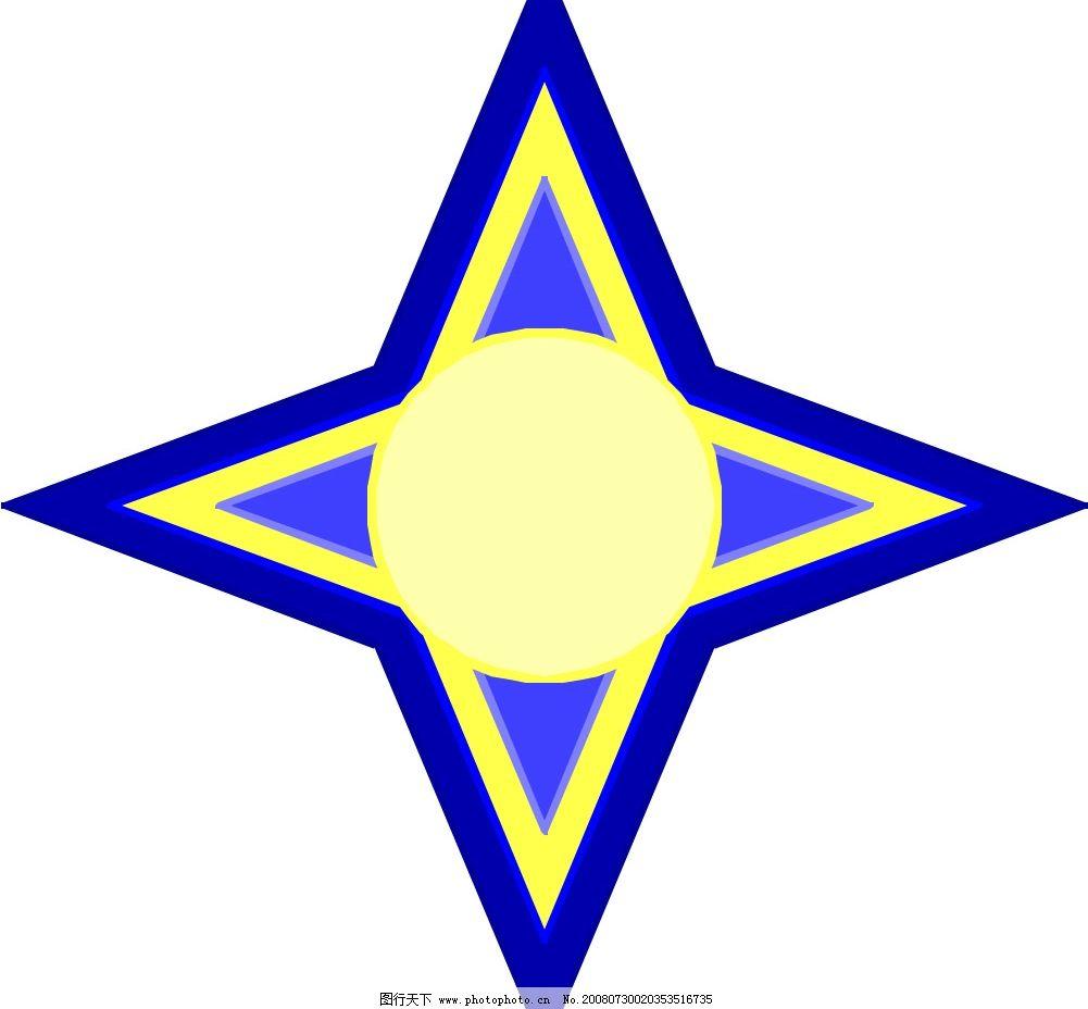 星形 爆炸形 边框 底纹边框 花纹花边 爆炸形的边框 矢量图库 wmf