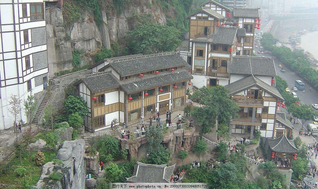 吊脚楼 重庆 洪崖洞 山城 其他 图片素材 摄影图库