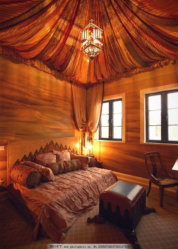 样板房室内图片,装潢 欧式 卧室 家居生活 别墅室内图