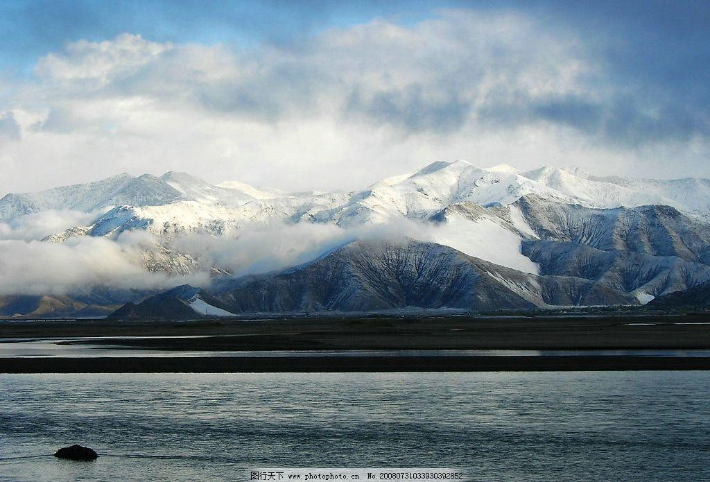 雪域高原 西藏 风景 雪山 旅游摄影 国内旅游 西藏美图 摄影图库