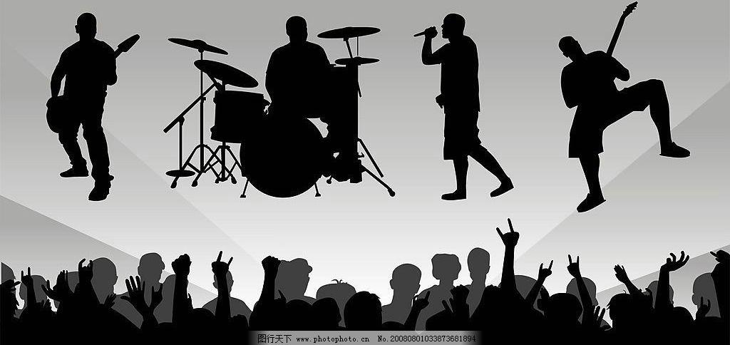 音乐背景 音乐 背景 舞台 其他矢量 矢量素材 矢量图库 cdr