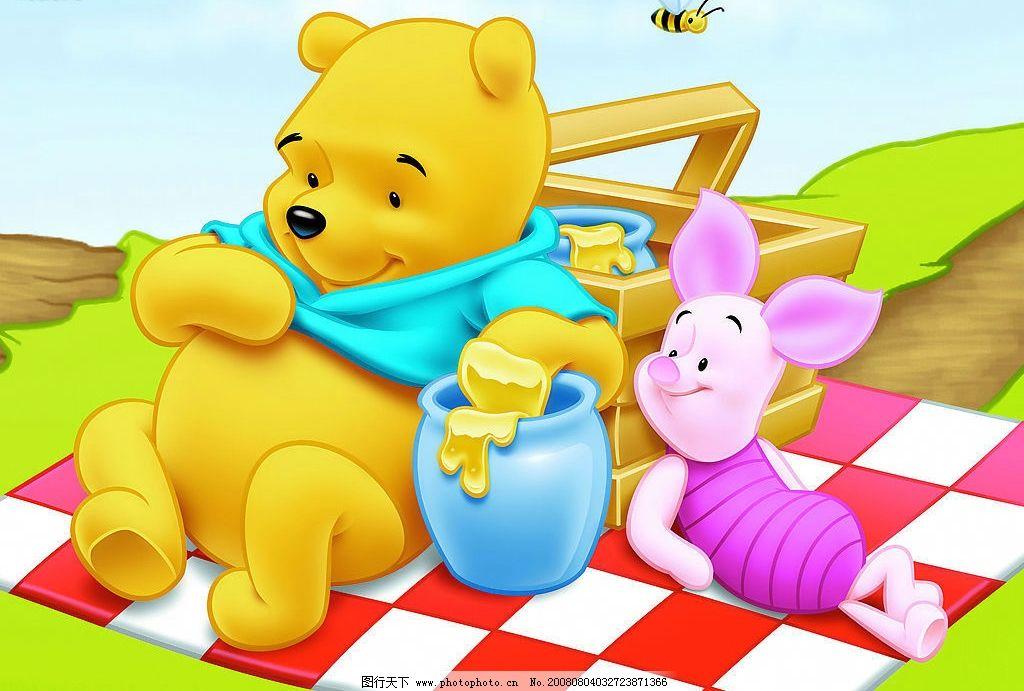 蓝衣服的维尼熊2 蓝衣服的维尼熊 维尼熊 动漫动画 动漫人物 迪士尼
