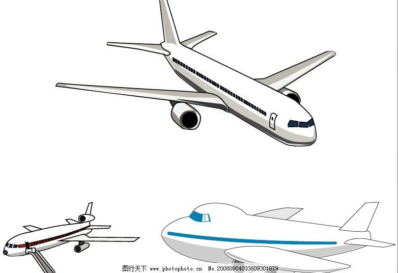 矢量飞机 其他矢量 矢量素材 矢量图库