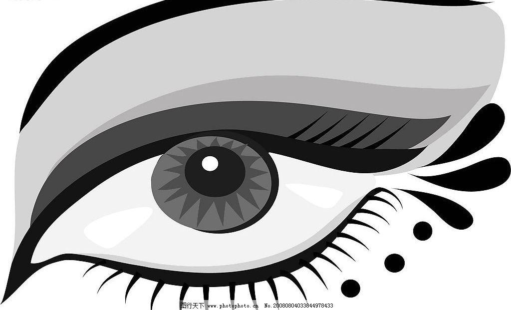 眼睛 其他矢量 矢量素材 矢量图库