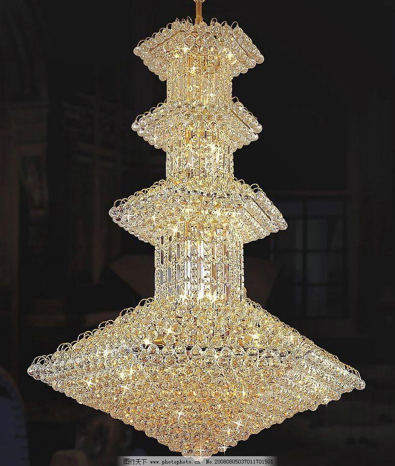 水晶灯 装饰吊灯 欧式水晶灯 正片 超清晰 生活百科 生活素材 摄影