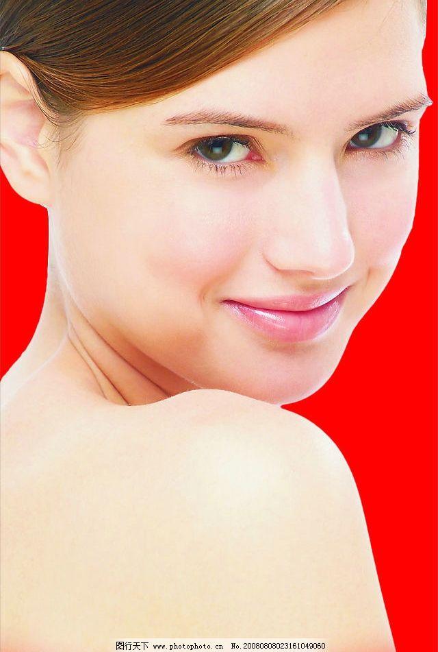 女性表情 女性肌肤 面部表情 美女肌肤 女性眼神 眼神特写
