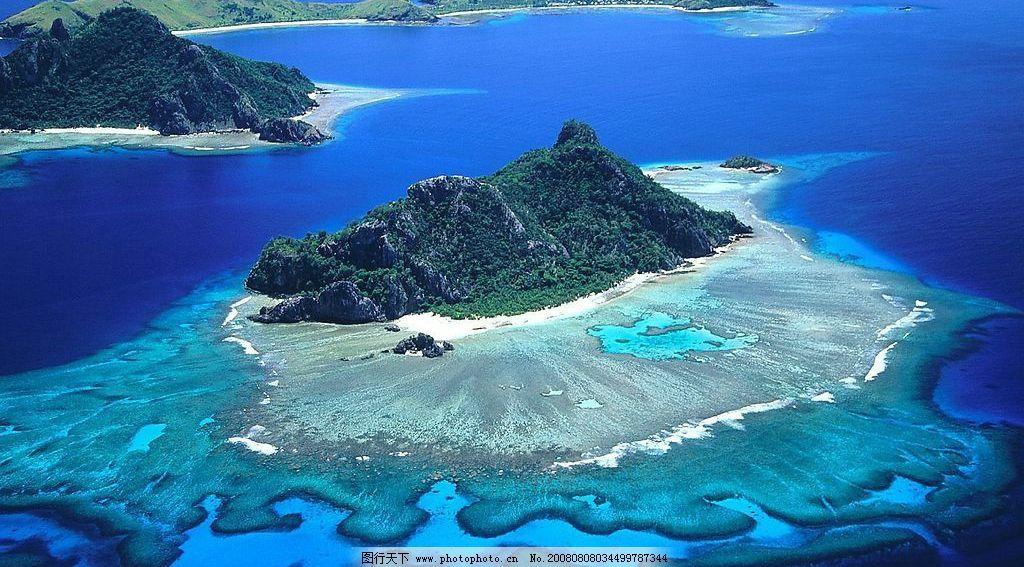太平洋斐济风景图片