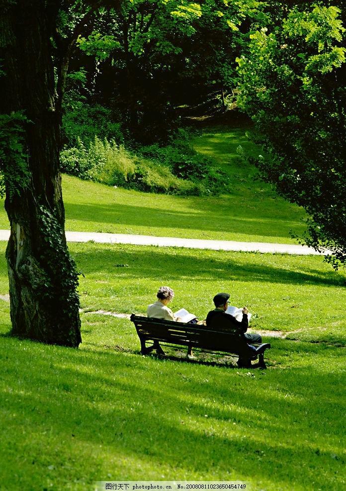 幸福晚年 老夫妻 爱情 天长地久 暮年 温馨 浪漫 读书 老年人物
