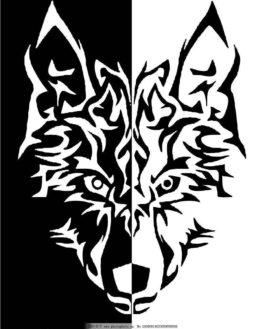 狼头的简笔画画法步骤