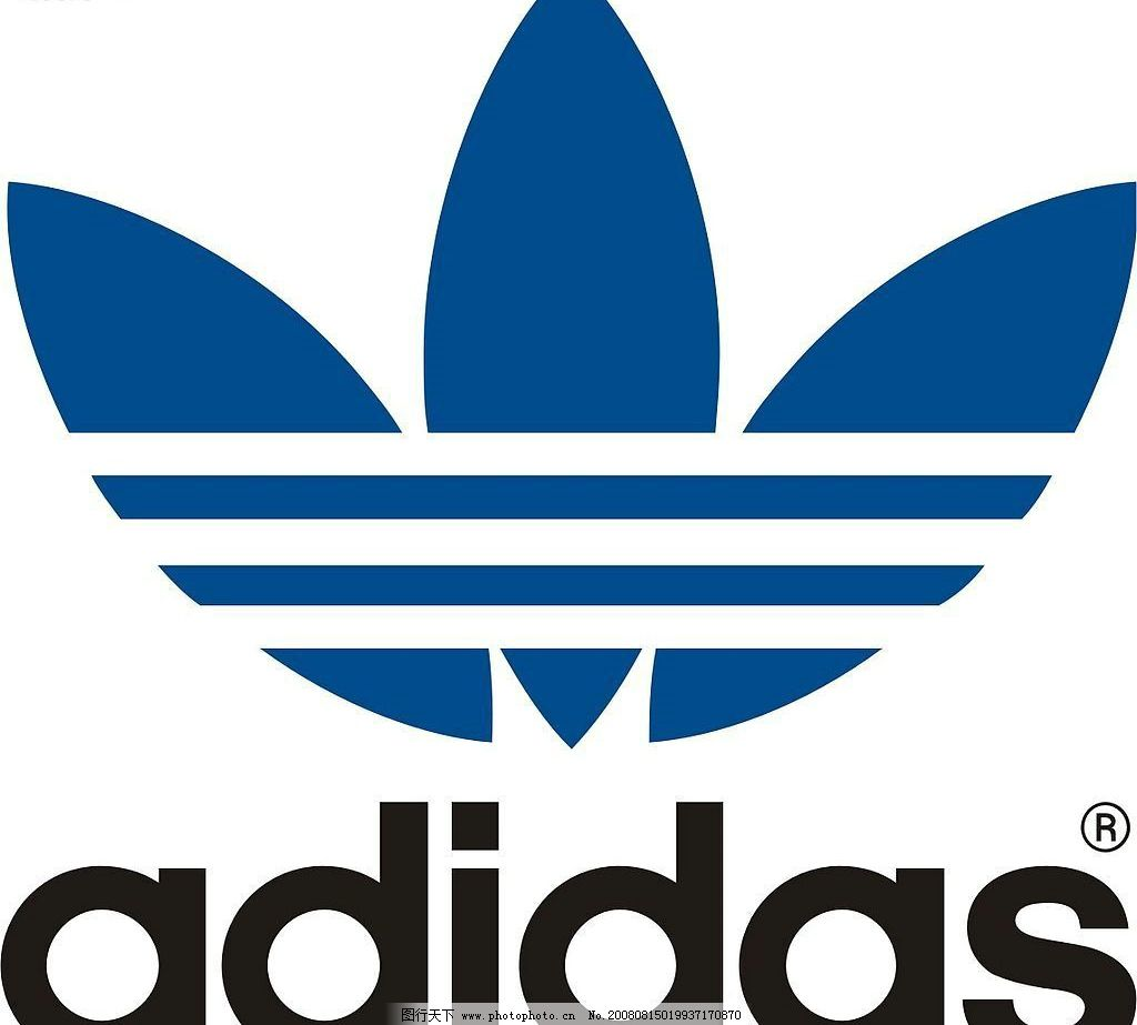 阿迪达斯经典cdr8 阿迪达斯经典 adidas 阿迪达斯 logo crd 标志 标识