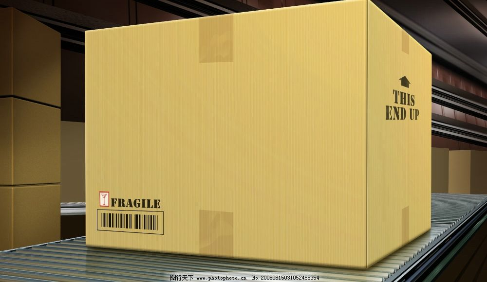 包装箱 广告设计模板 其他模版 源文件库 300dpi psd