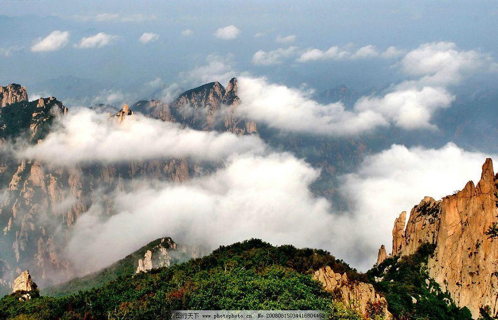 祖山云海图片_山水风景_自然景观_图行天下图库