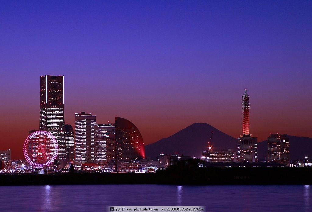 自然风景图片,夜景 城市风光 摄影 风景写真 旅游摄影
