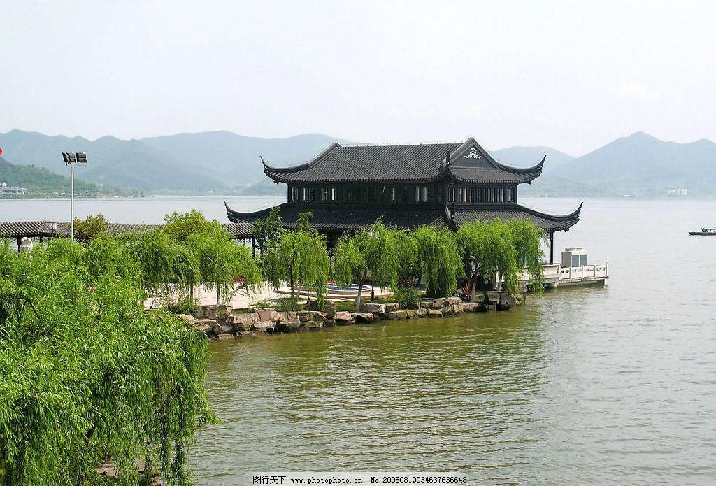 杭州东钱湖 风景 自然景观 风景名胜 摄影图库 72dpi jpg