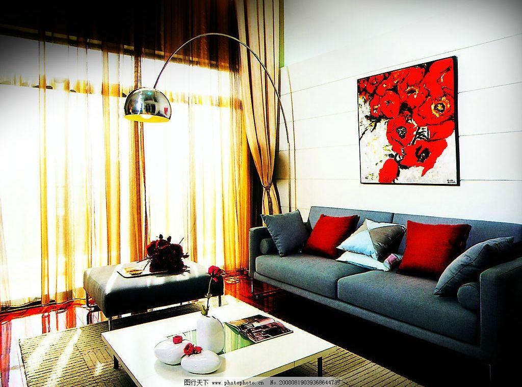 室内客厅 室内      沙发