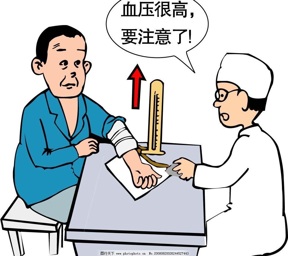 血压 生育 计生 插画 插图 量血压 生活百科 医疗保健 矢量图库 ai