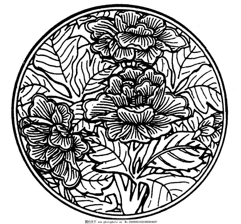 中式古花纹_中式古典花纹