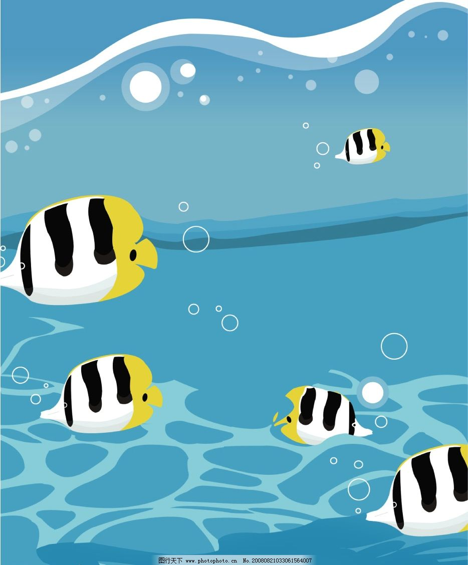 欢快的鱼儿图片