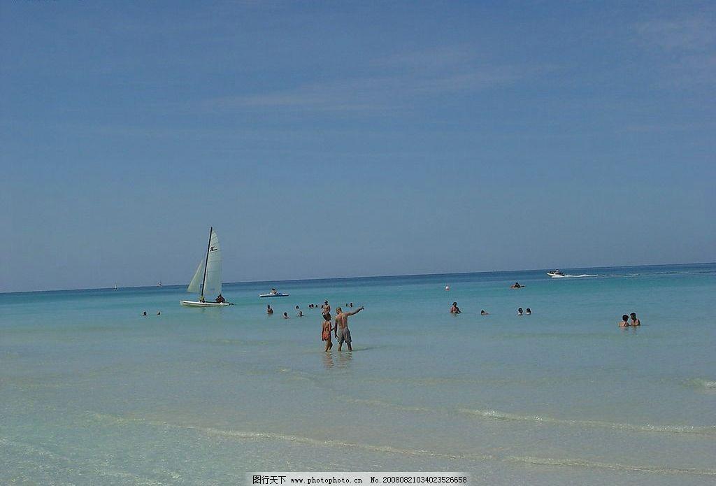 美丽古巴 海 旅游摄影 国外旅游 风景图片 摄影图库