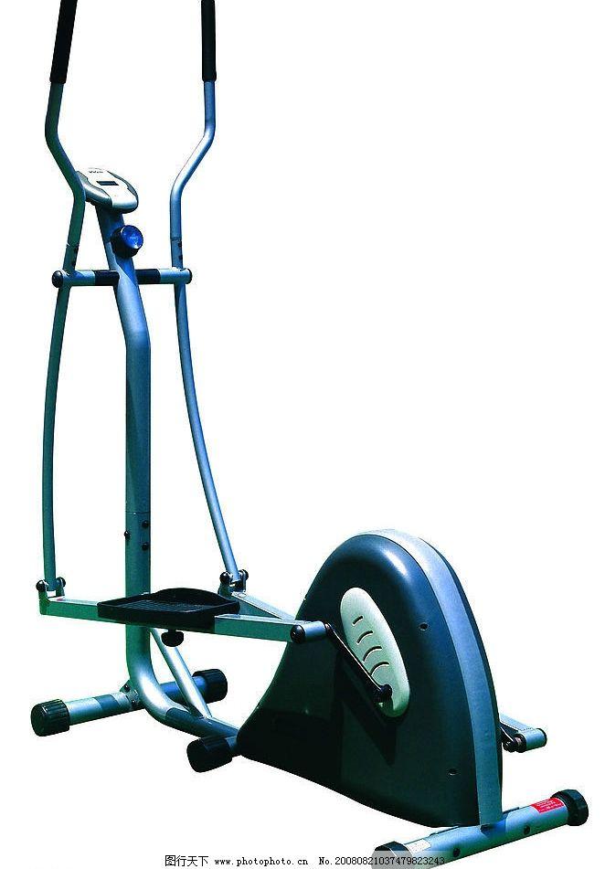 健身器械 设备 椭圆机 跑步机 健身器材 生活百科 体育用品 摄影图库